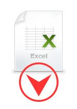宛名印刷用エクセルダウンロード