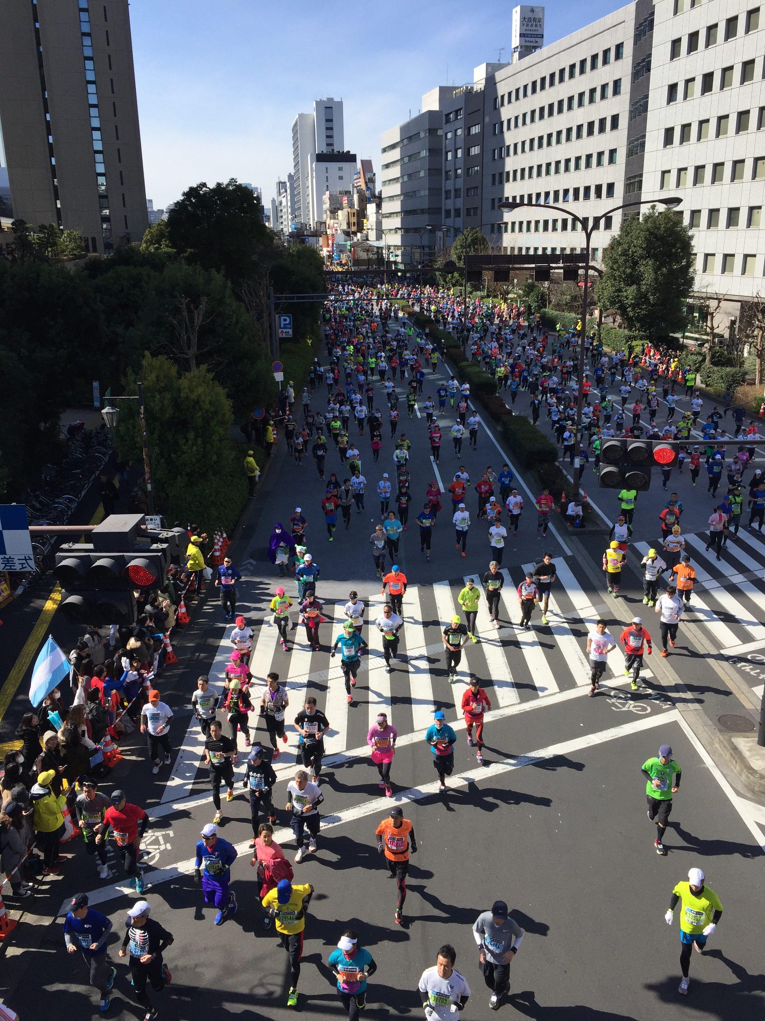 東京マラソンの応援ですが何か?